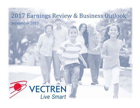 Vectren (VVC) 2017 Earnings Review & Business Outlook ...