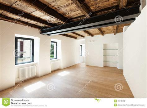 Modern Loft, Empty Room Stock Photo - Image: 40016479