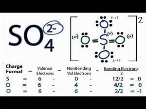 So4 2- Lewis Structure