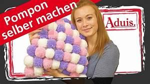 Pompon Selber Machen : pompon kissen selber machen youtube ~ Orissabook.com Haus und Dekorationen