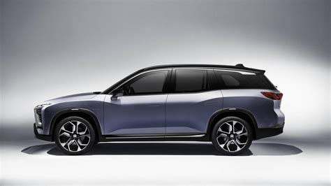 Suv Electric Car by Electric Car Startup Nio Announces Es8 Production Suv