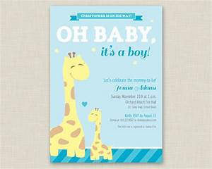 giraffe baby shower invitation printable baby shower With giraffe baby shower invitations template