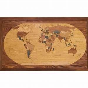 Carte Du Monde Deco : d coration marine carte du monde acheter d coration marine carte du monde ~ Teatrodelosmanantiales.com Idées de Décoration