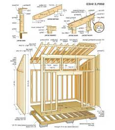 shed layout plans 8 x 12 lean to shed plans storage design