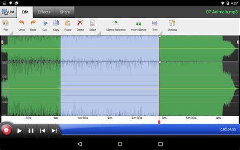wavepad audio editor  android apps  google play