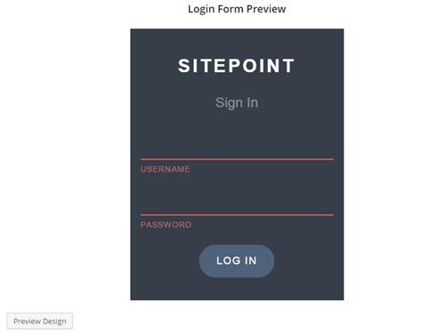 building custom login  registration pages  wordpress