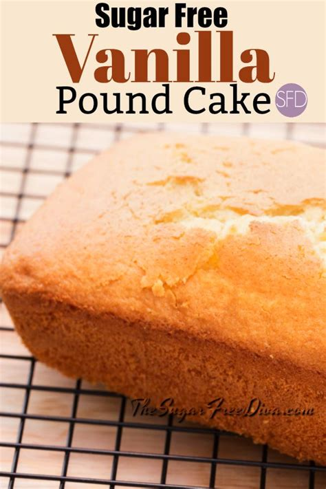 Recipe for diabetic christmas pound cake: YUM!! Sugar Free Vanilla Pound Cake! I could eat this with ...