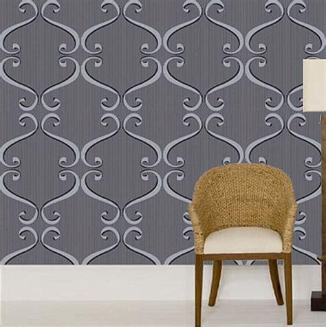 bold wallpaper  black white  grey decoist