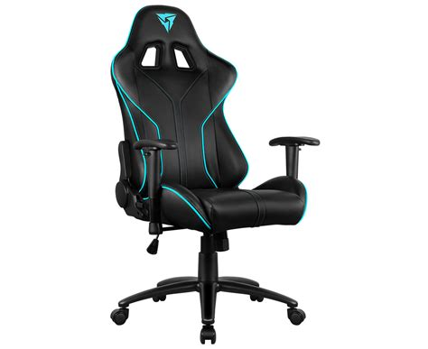 thunderx3 rc3 hex rgb lighting gaming chair black cyan groceryrun au