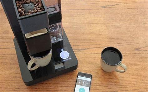 Koffieautomaat App bruvelo koffiemachine met iphone app voor snobs