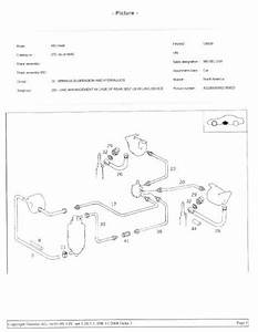 Parts Diagram For W126 Rear Sls Suspension