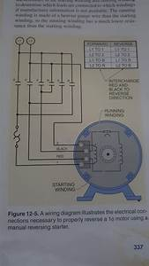 Wiring Diagram Single Phase Motor 6 Lead