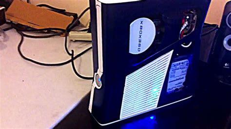 Xbox 360 Slim Ledcase Mod Youtube