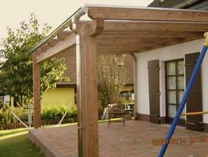 Terrassenuberdachung pergola terrassendach holz mit for Terrassenüberdachung leimbinder