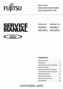 Fujitsu Aou9rl2 User U0026 39 S Manual