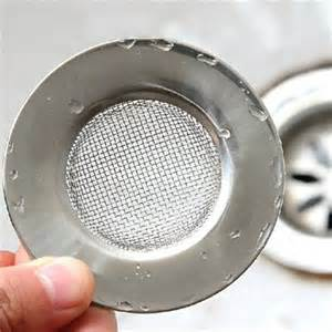 Mesh Sink Strainer With Stopper by Stainless Steel Wire Mesh Sink Strainer Stopper For