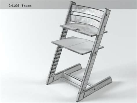 Trapp Stühle by Tripp Trapp 3d Model Stokke