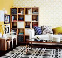 design your room How to create a stylish workplace in your living room - Chatelaine