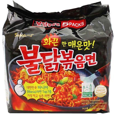 samyang spicy chicken ramen 5 4 9 oz 140g