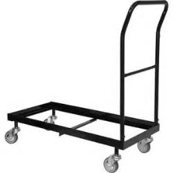 chair cart dolly storage rolling transport rack folding