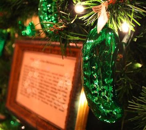 pickle german christmas santa claus and christmas
