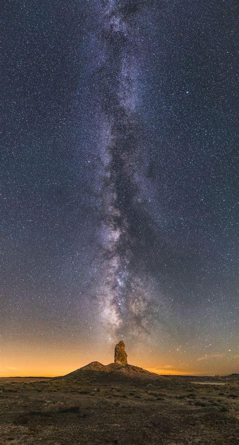 landscape astrophotography highlights stars  stunning