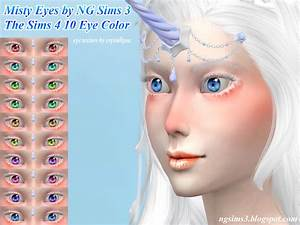 NG Sims 3: Misty Eyes - TS4 Eyes
