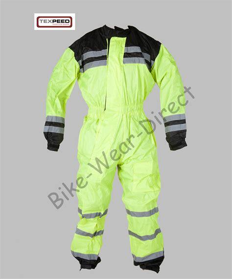 waterproof bike suit hi vis high visibility waterproof motorcycle bike cycling