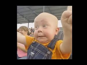 Baby Is 'Most Excited' Person At The County Fair - YouTube