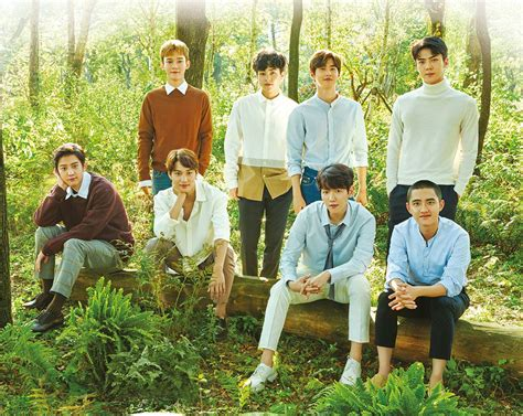 exo onehallyu cf exo for nature republic celebrity photos