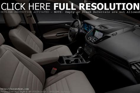 ford escape st interior colors  usa suv