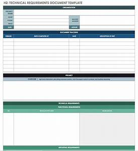 Reporting Specifications Template Free Technical Specification Templates Smartsheet