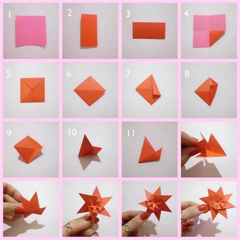 membuat hiasan dinding kamar  kertas origami