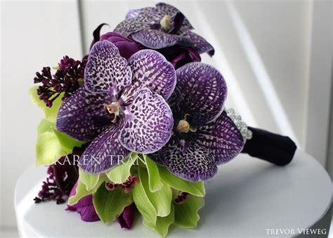 Purple Vanda Bouquets