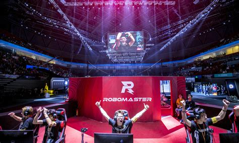 robomaster competition showcases  future  robotics