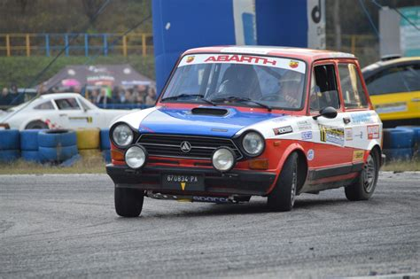 Autobianchi A112 Abarth: fun on racetrack - YouTube