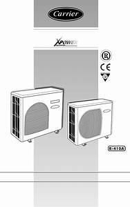 Download Carrier Heat Pump 38vyx080 Manual And User Guides