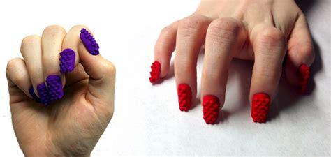 une utilisation artistique de l impression 3d les faux ongles elaee elaee