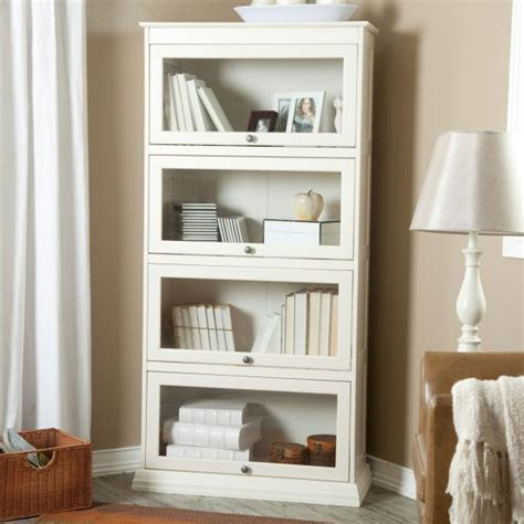 Cheap White Bookcases by Cheap White Book Shelf With Doors White Book Shelf
