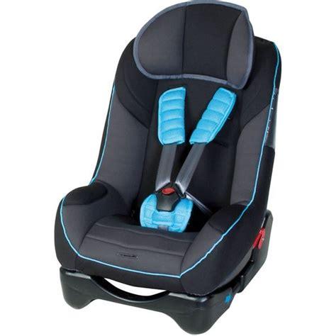 harnais siege auto siège auto noir avec protège ceinture bleu harnais à