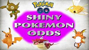 HOW RARE ARE SHINY POKEMON IN POKEMON GO!? ODDS OF SHINY ...
