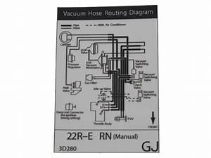 Vacuum Hose Routing Diagram Decal