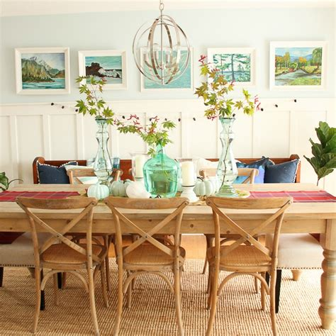 A Light Bright And Beautiful Home by Our Fall Dining Room Tour The Co