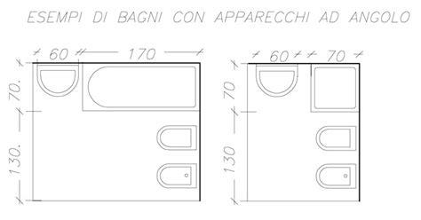 Misure Minime Bagno by Bagno In Misure Minime Con Vasca Da Bagno Misure