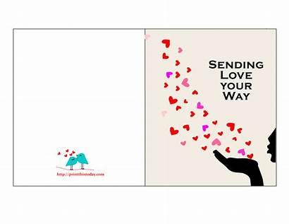 Cards Printable Him Valentine Card Printables Romantic