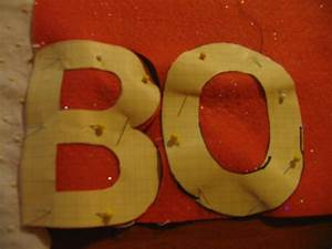 boo pillow for fun halloween decor With felt cut out letters