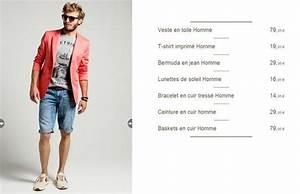 Tenue été Homme : looks homme promod printemps t 2014 mode homme blog ~ Mglfilm.com Idées de Décoration