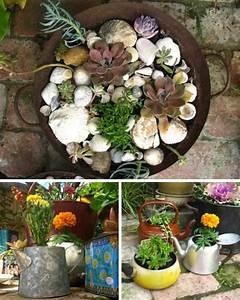 L'arte del riciclo: arredare un giardino in stile shabby chic! Quello Sbagliato: Vintage