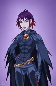 Raven DC Comics deviantART
