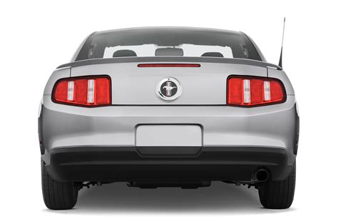 rear view 2010 ford mustang gt premium convertible ford
